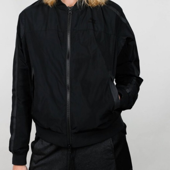464ca8227df5 Nike Tech Bomber Jacket in Classic Black. M 5b593b21409c152903c0f976. Other  Jackets   Coats ...